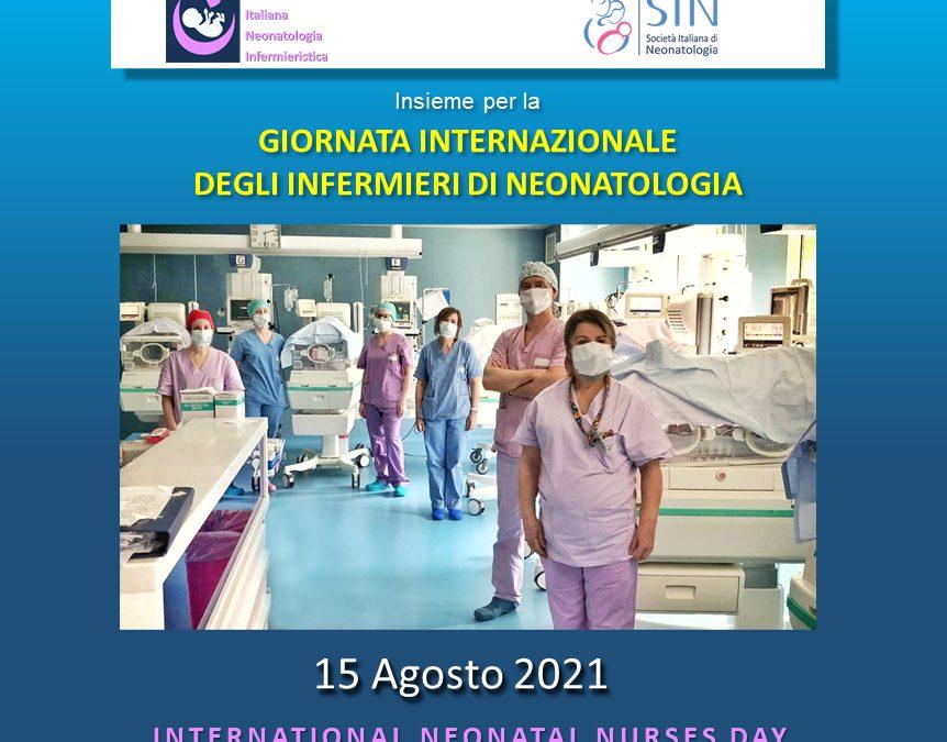 """15 AGOSTO: """"GIORNATA INTERNAZIONALE DEGLI INFERMIERI DI NEONATOLOGIA"""""""