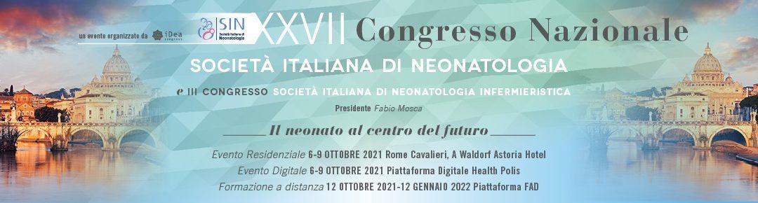 Al via il III Congresso Nazionale della Società Italiana di Neonatologia Infermieristica – SIN INF