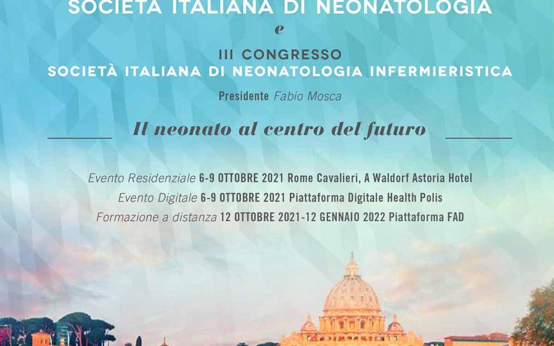 XXVII Congresso Nazionale Società Italiana di Neonatologia